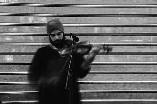 バイオリニストのイメージ画像