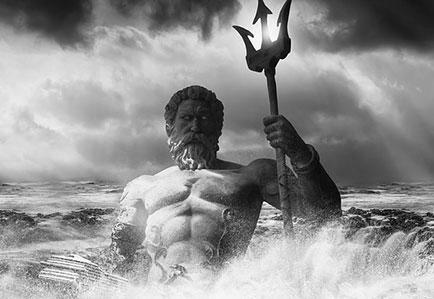 夢のイメージ写真(ギリシャ神話 ポセイイドン)